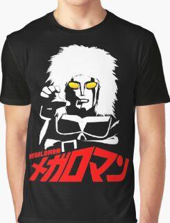 JAPAN CLASSIC SUPERHERO TOKUSATSU MEGALOMAN  Graphic T-Shirt