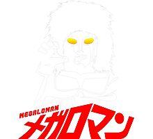JAPAN CLASSIC SUPERHERO TOKUSATSU MEGALOMAN  Photographic Print