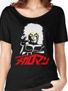 JAPAN CLASSIC SUPERHERO TOKUSATSU MEGALOMAN  Women's Relaxed Fit T-Shirt