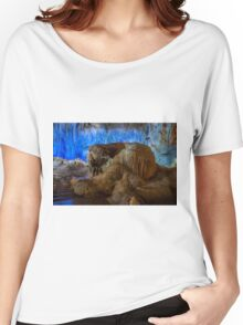 Vietnam Hang Dau Go stalagmites cave  Women's Relaxed Fit T-Shirt