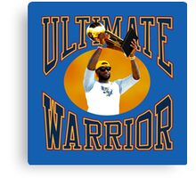 LeBron Ultimate Warrior Canvas Print