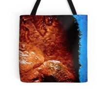 rust and plastic Tote Bag