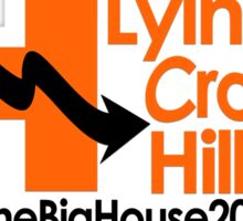 Lying Crooked Hillary - #LyingCrookedHillary - Trump for President - Hillary Lies - Elections 2016 Sticker
