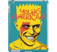 simpson of bowie iPad Case/Skin