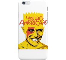simpson of bowie iPhone Case/Skin