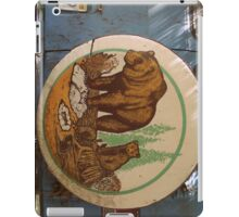 Bears on a Van iPad Case/Skin