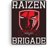 Mazoku Elite Raizen Brigade Canvas Print