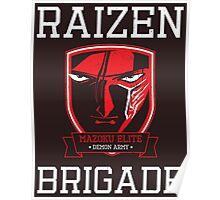 Mazoku Elite Raizen Brigade Poster