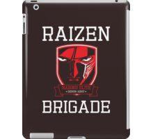 Mazoku Elite Raizen Brigade iPad Case/Skin