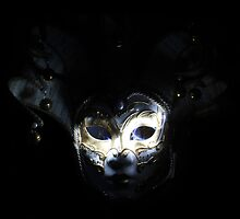 In the Dark - Venetian Mask by Roisin Bogle