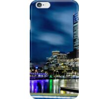 Elizabeth Quay at Night iPhone Case/Skin