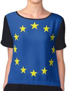 european union Women's Chiffon Top