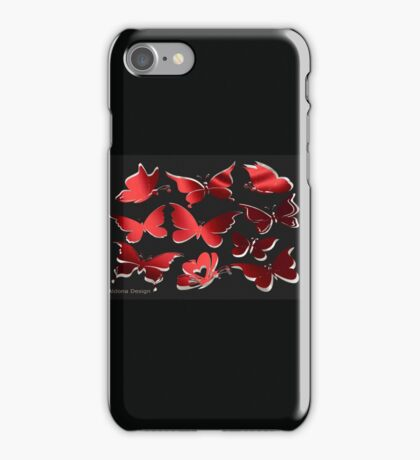 A butterfly Pattern (2320 Views) iPhone Case/Skin