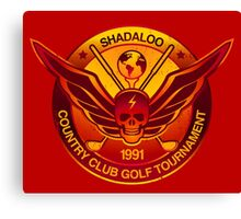 Shadaloo Golf Tournament 1991 Canvas Print