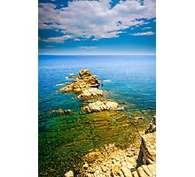 View from a cliff - Javea Photographic Print