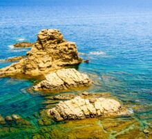 View from a cliff - Javea Sticker