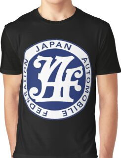 Japan Automobile Federation - JAF  Graphic T-Shirt
