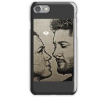 Jensen Ackles & Danneel Harris iPhone Case/Skin