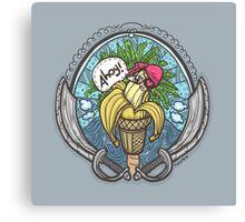Banana Pirate! Canvas Print