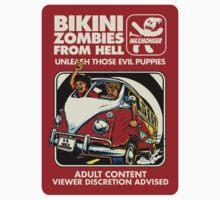 Bikini Zombies From Hell by waxmonger