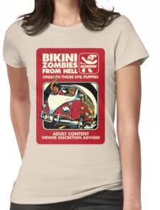 Bikini Zombies From Hell Womens Fitted T-Shirt