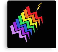 Struck By Rainbow Canvas Print