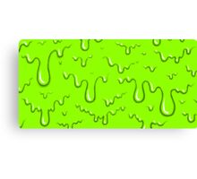 Green Slime Canvas Print