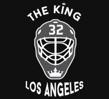 King of Los Angeles Jonathan Quick Kings NHL T-shirt by chadkins