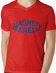 Magneti Marelli  Mens V-Neck T-Shirt