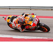 Marc Marquez at Circuit Of The Americas 2014 Photographic Print