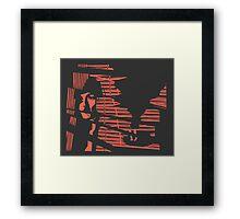 Classic Noir (Inverse) Framed Print
