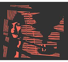 Classic Noir (Inverse) Photographic Print