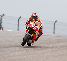 Marc Marquez at Circuit Of The Americas 2014 by corsefoto