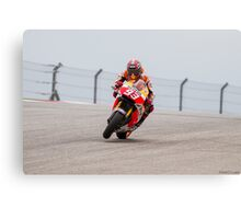 Marc Marquez at Circuit Of The Americas 2014 Canvas Print