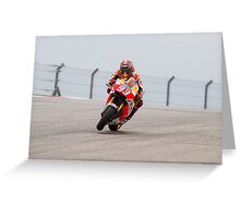 Marc Marquez at Circuit Of The Americas 2014 Greeting Card