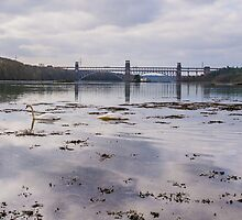 Britannia Bridge and the Swellies by Alec Owen-Evans