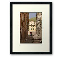 Gibraltar Scene Framed Print