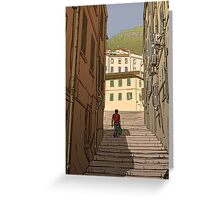 Gibraltar Scene Greeting Card