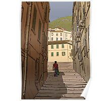 Gibraltar Scene Poster