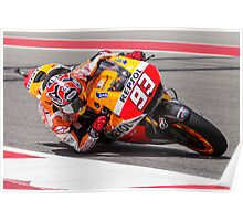 Marc Marquez at Circuit Of The Americas 2014 Poster