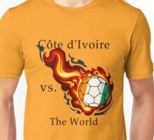 World Cup - Cote d'Ivoire Versus the World Unisex T-Shirt