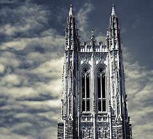 The Belfry of the Chapel at Duke by Kadwell