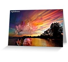 Camelot Reflection Greeting Card
