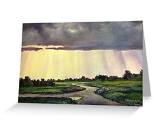 Rays From Heaven Greeting Card