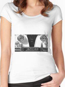 Vintage Jaguar  Women's Fitted Scoop T-Shirt