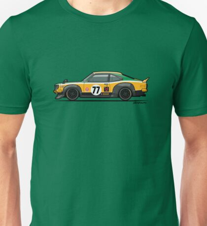 Mazda Savanna GT RX3 Racing Yoshimi Katayama (1975) Unisex T-Shirt
