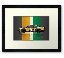 Mazda Savanna GT RX3 Racing Yoshimi Katayama (1975) Framed Print