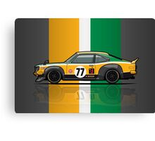 Mazda Savanna GT RX3 Racing Yoshimi Katayama (1975) Canvas Print