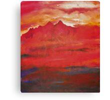Nuclear Landscape Canvas Print