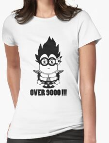 Over 9000 - Vegeta Womens Fitted T-Shirt